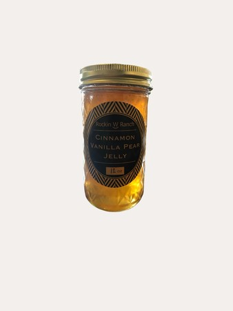 Cinnamon Vanilla Pear Jelly