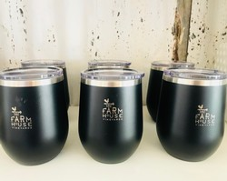 Black FHV stainless tumbler