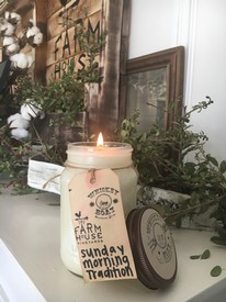 FHV Candle - Sunday Morning Tradition Image